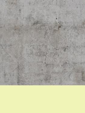 Yellow On Concrete by Emanuela Carratoni