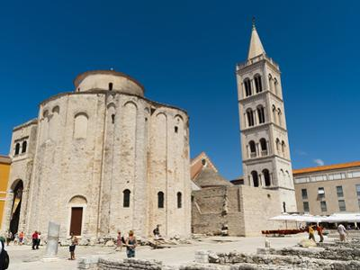 Church of St. Donat, Zadar, Zadar County, Dalmatia Region, Croatia, Europe by Emanuele Ciccomartino