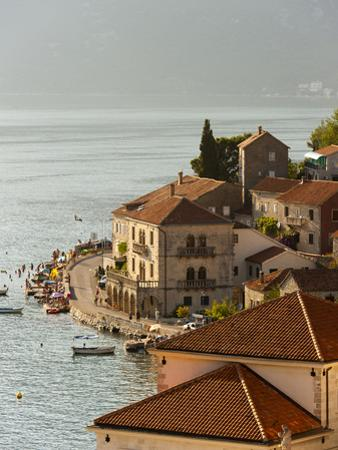 City View of Perast, Bay of Kotor, UNESCO World Heritage Site, Montenegro, Europe by Emanuele Ciccomartino