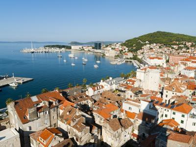 City View of Split, Region of Dalmatia, Croatia, Europe by Emanuele Ciccomartino