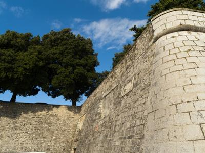 City Walls, Zadar, Zadar County, Dalmatia Region, Croatia, Europe