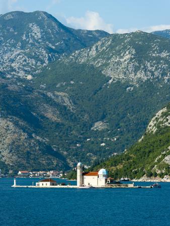 Gospa Od Skrpjela (Our Lady of the Rock) Island, Bay of Kotor, UNESCO World Heritage Site, Monteneg