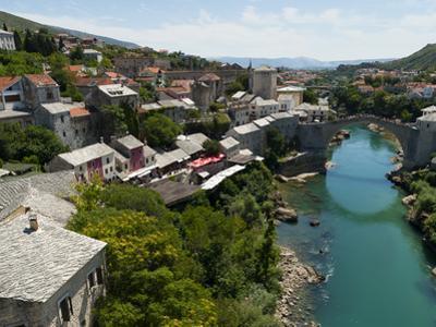 Mostar, UNESCO World Heritage Site, Municipality of Mostar, Bosnia and Herzegovina, Europe by Emanuele Ciccomartino