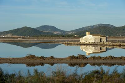 Salt Lake, Ses Salines Natural Park, Ibiza, Balearic Islands, Spain, Mediterranean, Europe by Emanuele Ciccomartino