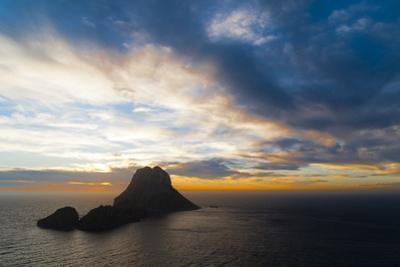 Sunset, Es Vedra and Vedranell, Ibiza, Balearic Islands, Spain, Mediterranean, Europe
