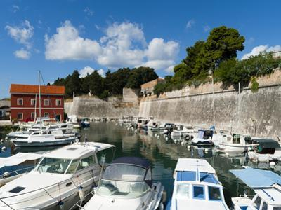 The Fosa, One of the Small Ports of Zadar, Zadar County, Dalmatia Region, Croatia, Europe by Emanuele Ciccomartino