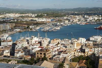View from the Mirador Del Rei Jaume I, Ibiza Castle, Old Town