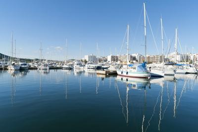 View of the Boats, Marina, Santa Eulalia Port by Emanuele Ciccomartino