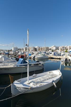 View of the Boats, Marina, Santa Eulalia Port by Emanuele Ciccomartino