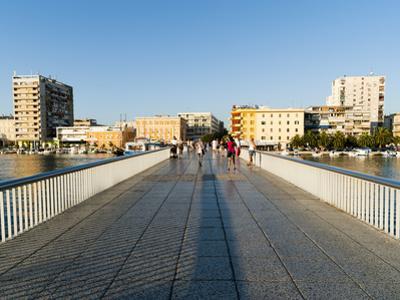 Zadarski Most (Zadar Bridge), Zadar County, Dalmatia Region, Croatia, Europe by Emanuele Ciccomartino