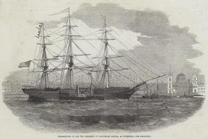 Embarkation of the 3rd Regiment of Lancashire Militia, at Liverpool, for Gibraltar