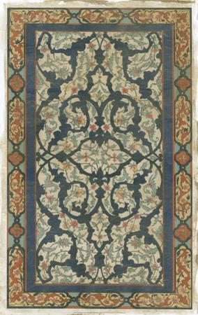 Embellished Persian Ornament III