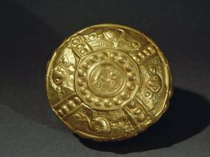 Embossed Gold Artifact from Manabi, 5th-15th Century A.D.