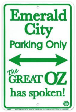 Emerald City Parking Only