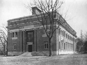 Emerson Hall, Harvard University, Cambridge, Massachusetts, USA, Early 20th Century