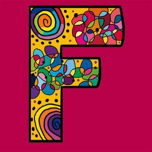 Letter F by Emi Takahashi