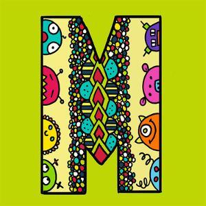 Letter M by Emi Takahashi