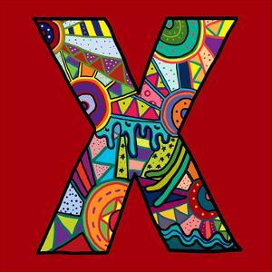 Letter X by Emi Takahashi