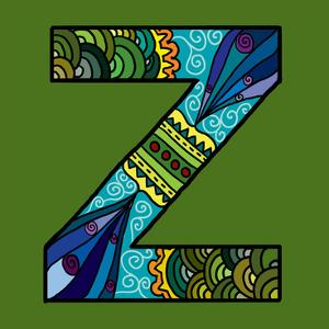 Letter Z by Emi Takahashi