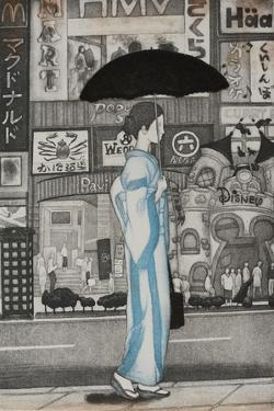 A Girl in Town, 2007 by Emiko Aida