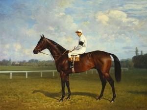 The Racehorse, 'Northeast' with Jockey Up by Emil Adam