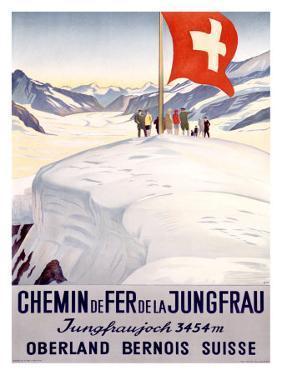Chemin de Fer de la Jungfrau by Emil Cardinaux
