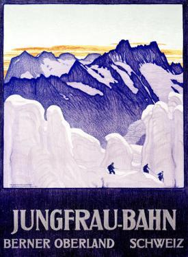 Jungfrau Bahn by Emil Cardinaux