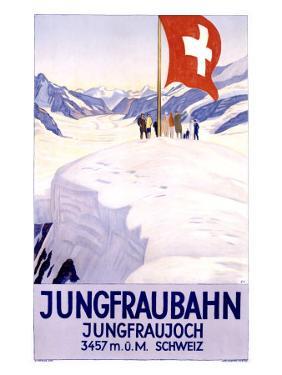 Jungfraubahn by Emil Cardinaux