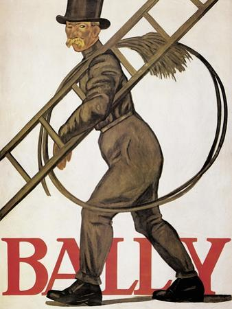 Poster Advertising 'Bally' Leather, 1926