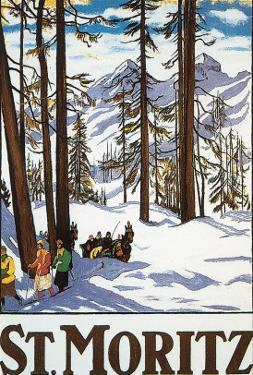 St. Moritz by Emil Cardinaux