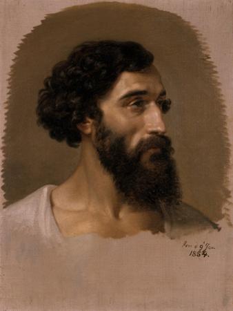 Head of a Roman, 1854