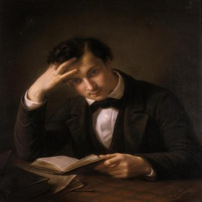 Young Student, 1858