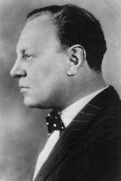 Emil Jannings (1884-195), Swiss Actor, 20th Century