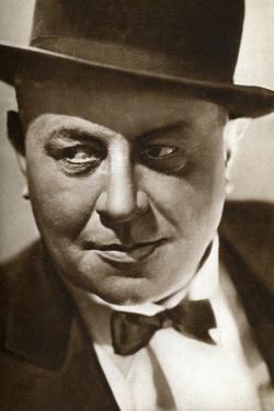 Emil Jannings, Swiss Actor, 1933