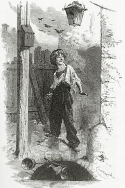 Gavroche, 19th Century by Emile Antoine Bayard