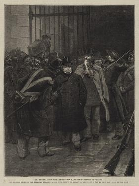 Illustration for the History of a Crime by Emile Antoine Bayard