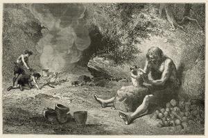 Le Premier Potier by Emile Antoine Bayard