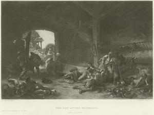 The Day after Waterloo by Emile Antoine Bayard