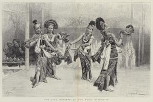 The Java Dancers at the Paris Exhibition by Emile Antoine Bayard