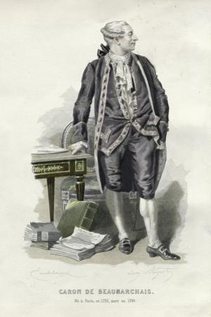 Caron De Beaumarchais by Emile Bayard