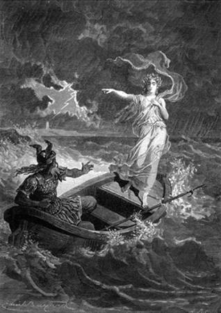 Druidess, Vercingetorix by Emile Bayard