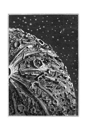 Illustration of around the Moon