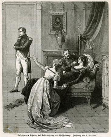 Josephine Has Bad News by Emile Bayard
