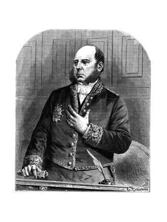 Pierre Jules Baroche by Emile Bayard