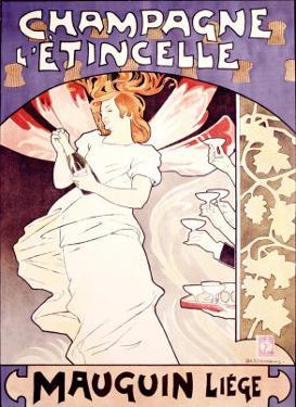 Champagne l'Etincelle by Emile Berchmans