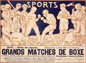 Matches de Boxe by Emile Berchmans