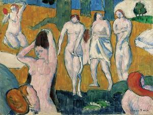 Bathers, 1889 by Emile Bernard