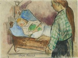 Bedtime by Emile Bernard