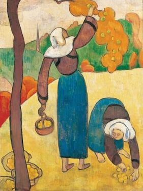 Breton Peasants, C.1889 by Emile Bernard
