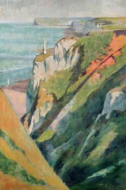 Cliffs and Sea by Emile Bernard